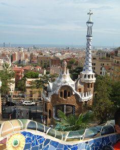 Parc Guëll - Barcelona   VIP трансфер в Барселону  и  Предлагаем услуги экскурсии  трансфер, отдых, #travel
