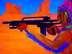 https://flic.kr/p/LEcVzW   #gregggriffinartist #painting #art#nativeamerican…