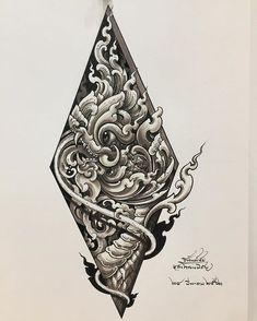 Khmer Tattoo, Thai Tattoo, Thailand Tattoo, Thailand Art, Black Dragon Tattoo, Day Of The Dead Girl, Buddha Tattoos, Thai Art, Mini Tattoos