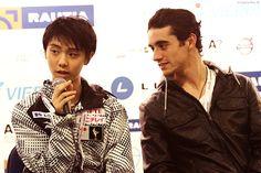 Javier and Yuzuru