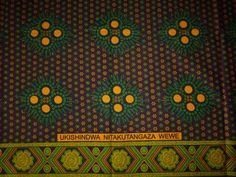 NEUE AFRIKANISCHE KANGA (KHANGA)    Kanga-Wrap / Sarong ist ein traditionelles Kleidungsstück  von Männern und Frauen in Ost-Afrika