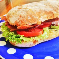 BLT Sandwich by Chow with Xhico