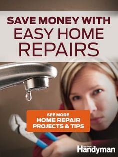 How to Repair a Leaking Tub Faucet - Step by Step: The Family Handyman