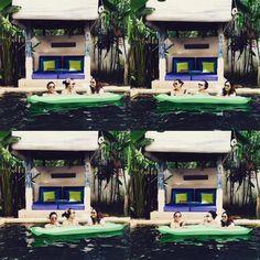 Sisters swimming day! . . . #swimming #bali #umalas #vacation #holiday #sisters #villaumalas #villa #pulauboutiquevillas. Courtesy of @putrinazarudin in #Instagram.