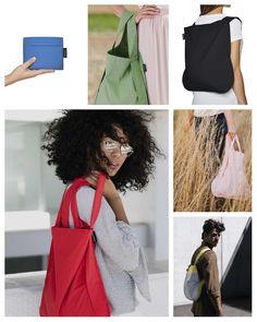 Sinds kort verkopen wij online en in onze winkel Notabag, de ideale combinatie tussen een rugzak en een tas die nog eens makkelijk op te vouwen is. Reusable Tote Bags, Fashion, Moda, Fashion Styles, Fashion Illustrations, Fashion Models