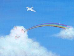 空想/幻想画「雲のもくもく」[小空]   ART-Meter