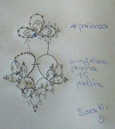 Sara K. Tatting Earrings, Tatting Jewelry, Lace Jewelry, Tatting Lace, Bead Jewellery, Crochet Earrings, Handmade Jewelry, Bead Crochet, Diy Crochet