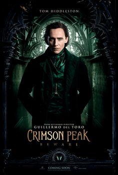 Crimson Peak (Guillermo Del Toro / Tom Hiddleston) poster