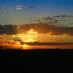 Night sky Sunset by R Wozney Photography crated.com/rwozney