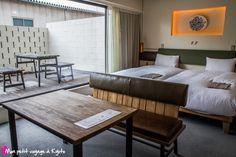 HOTEL ANTEROOM KYOTO est à 15 minutes de marche de la gare de Kyoto. La particularité de cet hôtel est de proposer une partie pour les voyageurs et également des locations d'appartements pour les particuliers
