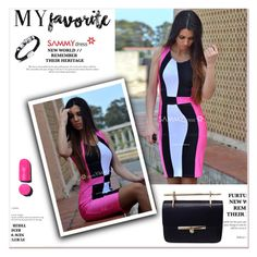"""""""Sammydress"""" by janee-oss ❤ liked on Polyvore featuring Chanel"""