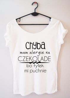 Time For Fashion Grow up / t-shirt biały Smile Everyday, Funny Tshirts, Growing Up, Good Things, Crop Tops, Humor, My Style, Casual, Womens Fashion
