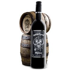 This wine goes perfect with a nice sirloin, strip steak, and HELLRAISING!  Let's just hope it doesn't taste too much like Lemmy. $32