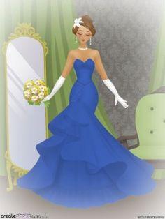 Brazilian Traditional Style Wedding Dress