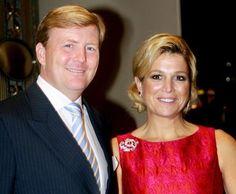 Prince Willem-Alexander (1967-living2013) Netherlands & Princess Máxima Zorreguieta Cerruti (1971-living2013) Argentina.