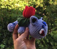 Guapisimas!!! He hecho a IVASAUR de Pokemon!!!!! Me he basado en el patron de Bulbasaur que os puse la semana pasada: Así que quien quiera y con el mismo patrón puede hacer a Bulbasur. Empiezo!!!…
