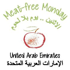 Meat Free Monday, United Arab Emirates United Arab Emirates, Meatless Monday, Free