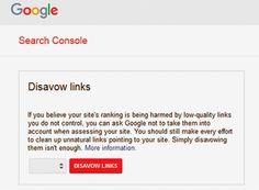 Google disavow tool information in Hindi. गूगल डिसअवोव टूल के माध्यम से आप अपने वेबसाइट के अप्राकृतिक लिंक को कैसे हटा सकते है.