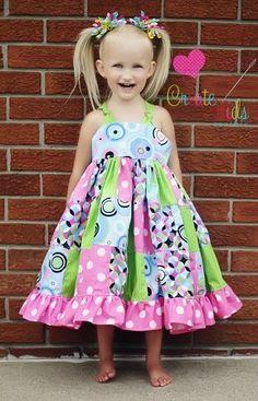 Penny's Patchwork Twirly Dress