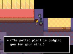 What game is this I wanna play it. I also wanna know why the plant is judging me... WHAT DID YOU DO TO THE PLANT?