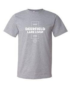 Deerfield Lake Loop Trail Tee