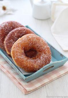 ciambelle con lo zucchero ricetta Dulcisss in forno by Leyla