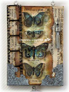 Butterflies! a Tim Holtz class