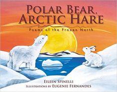 Polar Bear, Arctic Hare: Poems of the Frozen North: Eileen Spinelli, Eugenie Fernandes Art Books For Kids, Childrens Books, Boomerang Books, Arctic Hare, Polar Animals, Children's Picture Books, Cute Pictures, Dinosaur Stuffed Animal, Poems