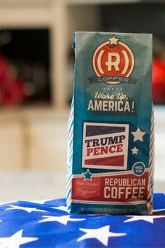 Introducing the Republican Coffee Trump Pence roast -- now 20% off with coupon code TRUMPPENCE20