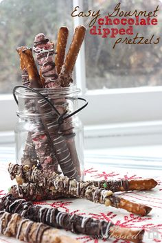 Easy Gourmet Dipped Pretzels | MyBlessedLife.net