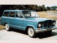 1963 Jeep Wagoneer Passenger Front Angle