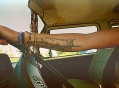 feather tattoo | roadtrip