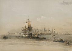 Alexandria colour lithograph