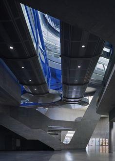 BMW Central Building, Leipzig, Germany by Zaha Hadid Architects