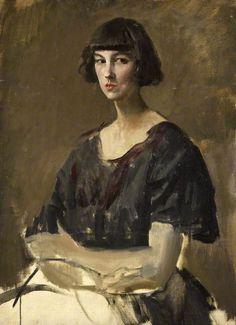 Augustus Edwin John - Portrait of a Woman (1921)