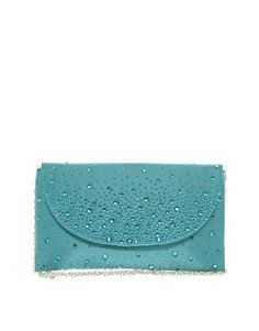 Johnny Loves Rosie Jewelled Clutch