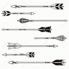 Small arrows temporary tattoo set | Arrows, Arrow Tattoos and ...