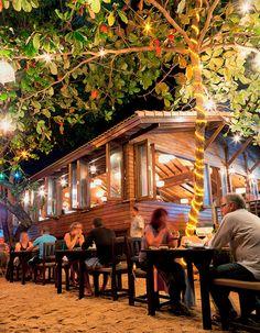 Koh Samui, Thailand: One of the most popular Koh Samui restaurants – Krua Bophut Restaurant, on Bophut Beach. Amazing Thai food and perfect for a Thailand honeymoon Ko Samui, Samui Thailand, Thailand Honeymoon, Thailand Travel, Seaside Seafood, Bangkok, Beautiful World, Beautiful Places, Thai Travel