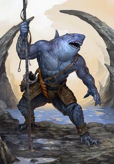 Im so down with putting a wereshark in the show!