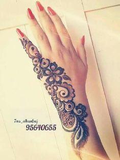 Finger Henna Designs, Mehndi Designs 2018, Modern Mehndi Designs, Mehndi Design Pictures, Mehndi Designs For Girls, Mehndi Designs For Fingers, Dulhan Mehndi Designs, Beautiful Mehndi Design, Henna Tattoo Designs