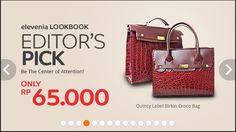 Elevenia Lookbook Editor's Pick, 23 Januari – 28 Februari 2015 | Tempatnya Promosi dan Diskon