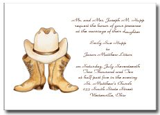Free Printable Wedding Invitations Western Invitation Kits Country Cowboy