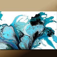 Large Abstract Art Print Contemporary Abstract Giclee by Destiny Womack Pure Emotion- dWo #abstractart