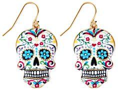 Colourful Skull gesehen bei Bijou Brigitte - Die Calaveras sind baldauch  bei…