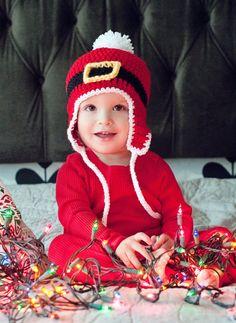 Crochet PATTERN  Santa Belt Hat  Instant download by littlepunky, $4.99