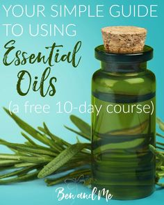 Your Simple Guide to Using Essential Oils is a free 10-day eCourse (via email) that will help you get started using essential oils safely.