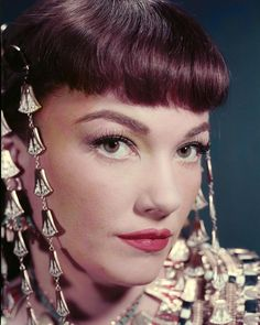 Anne Baxter, The Ten Commandments, 1956 Anne Baxter, Yvonne De Carlo, Hollywood Walk Of Fame, Hollywood Stars, Hollywood Glamour, Hollywood Actresses, Vintage Hollywood, Classic Hollywood, Moses Movie