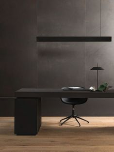 55 Ingenious Home Office Desk Ideas and Designs — RenoGuide – Australian Renovation Ideas and Inspiration - Home Office Furniture Modern Office Design, Office Furniture Design, Office Interior Design, Office Interiors, Luxury Interior Design, Design Offices, Modern Offices, Design Desk, Modern Interior
