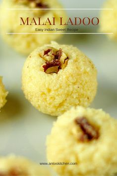 Malai ladoo - Indian sweet recipe. #antoskitchen #malai #ladoo #Indian #sweet #recipe
