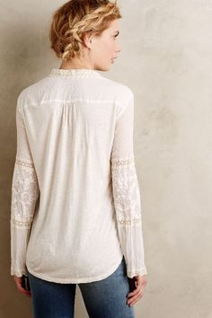 Abbey Lace Blouse - anthropologie.com